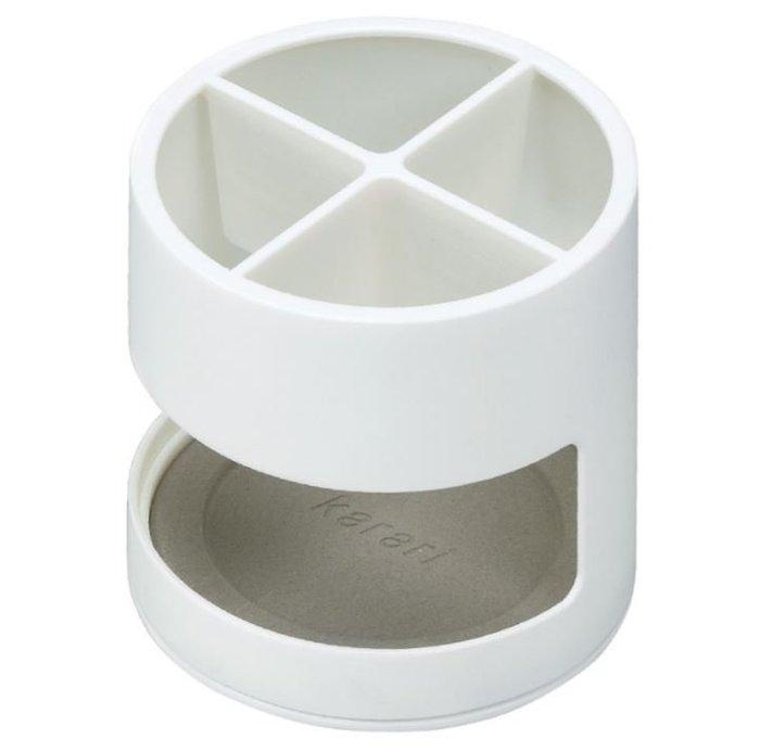 [霜兔小舖]日本代購   HONESTY   珪藻土廚具置架   低筒圓款