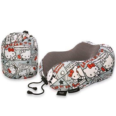 【murmur 舒壓旅行護頸枕 】Hello Kitty漫畫 旅行必備、三麗鷗正版授權、頸枕、記憶海綿