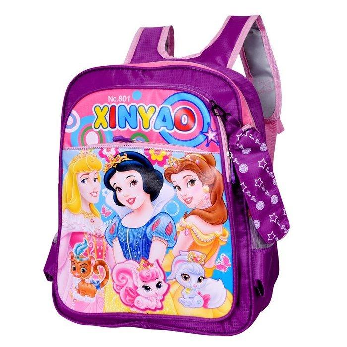 東大門平價鋪   白雪公主幼兒園書包,男女生中大班學前班書包