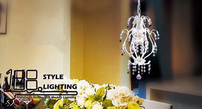 【168 Lighting】鮮豔點綴《水晶吊燈》GI 71311-5