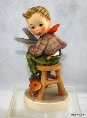 稀有德國喜姆娃娃Goebel M.I.Hummel 編號308 Little Tailor 舊款 (old style)