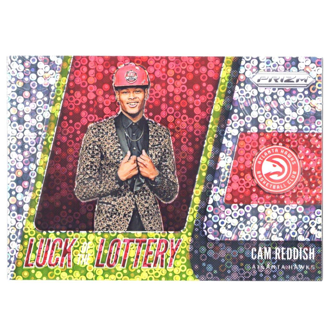 老鷹未來 Cam Reddish / Prizm Luck of the Lottery Fast Break系列新人泡泡亮金屬卡 2019-20 Rookie