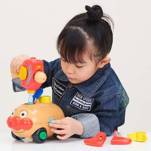 iSport代購 日本代購 台灣現貨 麵包超人 日本玩具大賞 DIY 自己組裝樂趣 玩具車 707691 交換禮物