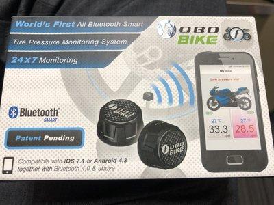 FOBO BIKE全新含運3500 全藍芽雲端胎壓偵測器,摩托車輪胎壓偵測器