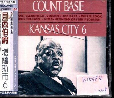 *真音樂* COUNT BASIE / KANSAS CITY 6 全新 K15694