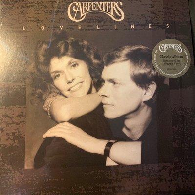 (全新未拆封)木匠兄妹合唱團 Carpenters - Lovelines 愛的箴言 黑膠LP(環球公司貨)