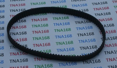 【TNA168賣場】232mm 閉口皮帶 2GT同步帶 傳動皮帶 模型機械傳動