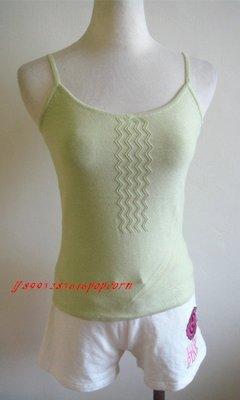 細肩帶線條修身顯瘦百搭短版上衣針織背心