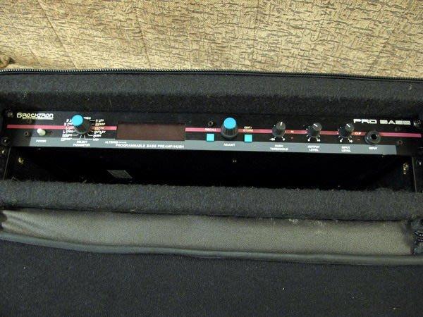 ☆ 唐尼樂器︵☆ Rocktron Pro Bass 電貝斯前級/雜訊消除1U Rack 型效果器