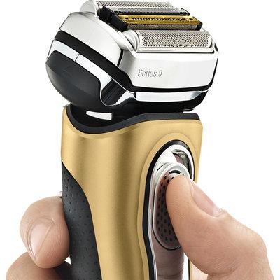 剃鬚刀博朗(BRAUN)9399PS 往復式電動剃須刀 胡須刀 刮胡刀(線下同款)