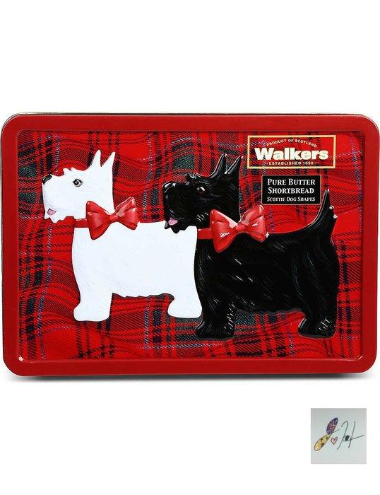 請先詢問[要預購] 英國代購 WALKERS 蘇格蘭皇家餅乾 狗狗造型酥餅禮盒 200克