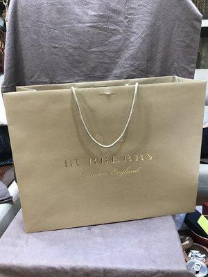 全新BURRERRY紙袋