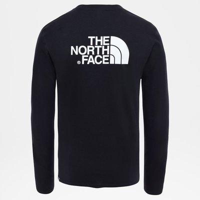[全新]The North Face Easy Long-Sleeves Shirt Black 長袖T恤 新北市