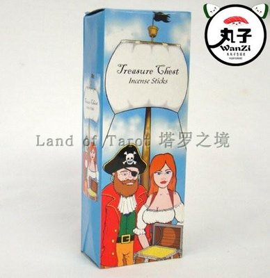 命理 塔罗牌游戏進口Treasure Chest Incense 20 stick百寶箱 魔法線香(現)1180