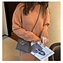 H小姐愛亂買-獨家高級感錫器灰色金扣 新款25cm Kelly時尚迷你凱莉包定製女包潮Bolide Picotin包