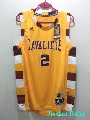 adidas NBA Swingman HWC Kyrie Irving 2 騎士隊 橘黃 紅白 條紋 客場 復古 球衣