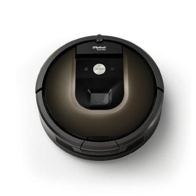 美國 iRobot Roomba 980 智慧吸塵+wifi掃地機器人 導入最新鏡頭(視覺導航)+地圖