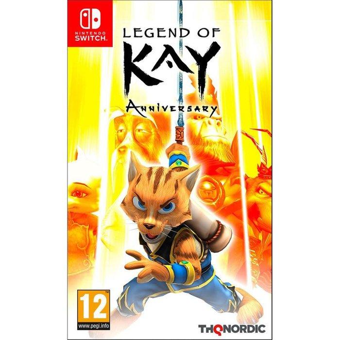 【一起玩】 NS SWITCH 凱之傳奇 紀念版 英文歐版 Legend of Kay Anniversary