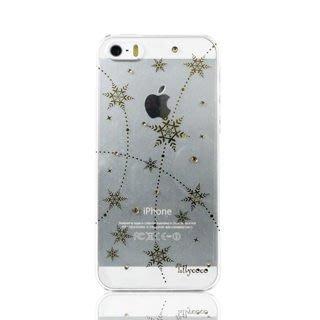 【宇浩電通】Lilycoco iPhone 5 5S SE 璀璨 水晶 耀眼 雪鑽 透明 硬殼 保護殼 保護套