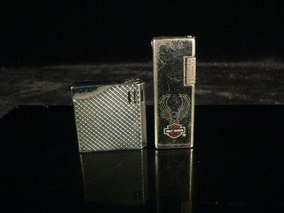 乖乖@賣場.二手打火機.早期Maruman(丸萬)早期電子打火機.火石打火機(兩個).(ZA521)
