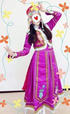 年底尾牙變裝少數民族蒙古族長裙女裝