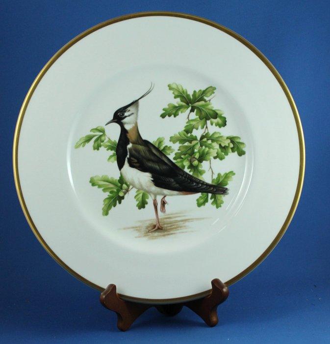 [美]英國百年名瓷 COALPORT 約1980年代限量骨瓷大型裝飾盤 - THE LAPWING