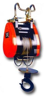 WIN 五金 台灣製造 基業牌 300KG*60米 高樓小吊車 捲揚機 小金剛 鋼索 電動吊車 吊車 免運費