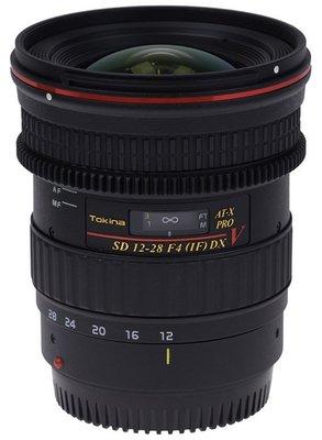 【日產旗艦】Tokina AT-X PRO DX V 12-28mm F4 錄影追焦 廣角鏡頭 立福公司貨