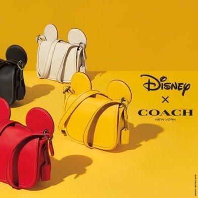 Coach x Disney聯名款米奇耳朵包