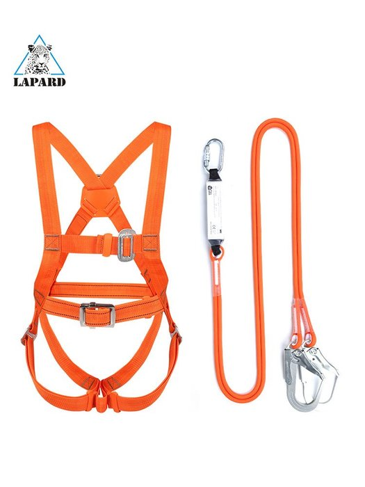 【可開發票隨貨】全身五點式高空作業安全帶繩子戶外防墜落套裝耐磨工地電工保險帶