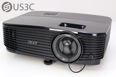 【US3C-小南門店】宏碁 Acer X1323WH 投影機 免關燈抗光投影機 3700流明 ColorSafe技術 原廠保固內