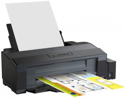 【KS-3C】附發票一年保 Epson L1300 A3四色單功能原廠連續供墨印表機 (A3+列印)