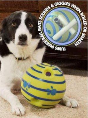 寵物叫叫球Wobble-Wag-Giggle寵物發聲球 美國寵物互動玩具球