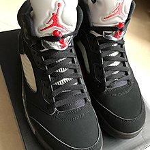 Air Jordan 5 retro OG Black Metallic Silver