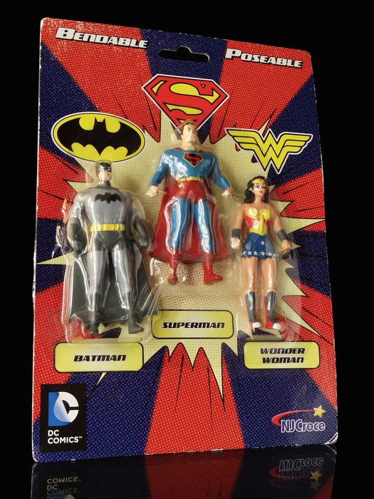 1-2 FW : BENDABLE POSEABLE 正義聯盟 DC COMICS NJCROCE 富貴玩具店