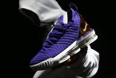 NIKE LeBron 16 XVI King Court Purple 紫 籃球鞋 男鞋AO2588-500