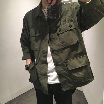 18SS Wtaps Jungle LS Shirt Copo Weather 四袋 軍襯衫 軍綠 軍裝 現貨 風衣 外套 buds