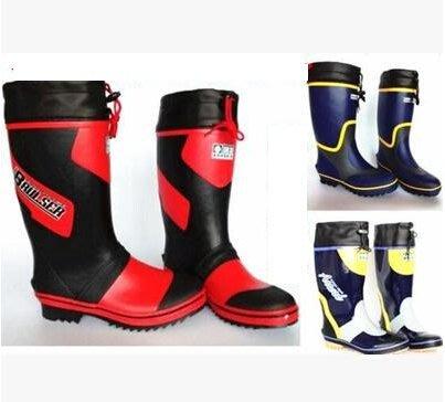 新款男高筒橡膠勞保釣魚防滑防水春夏透氣雨鞋 雨靴水鞋套鞋