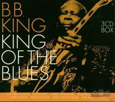 【進口版】藍調之王 King of the Blues (3CD) / 比比金 B.B. King---GSS5356