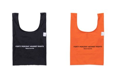 (A.B.E)FORTY PERCENT AGAINST RIGHTS AW19 FPARMG TOTE BAG 兩色