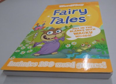 WordPlay Fairy Tales《Fill in blanks with WACKY words》【新書 未使】