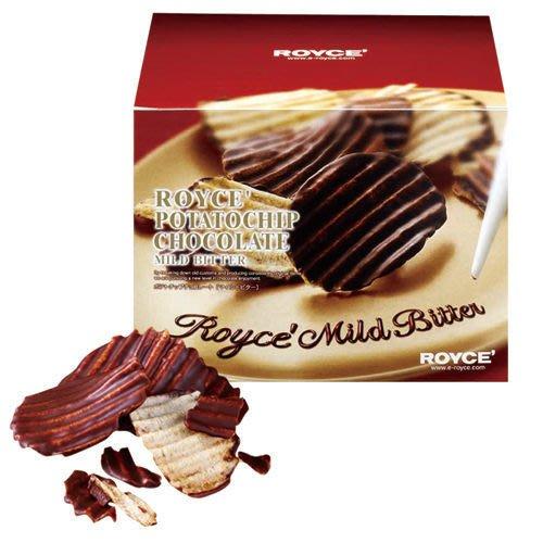 *日式雜貨館*日本 北海道限定 ROYCE苦甜巧克力洋芋片 巧克力洋芋片 日本代購 另:白色戀人 六花亭