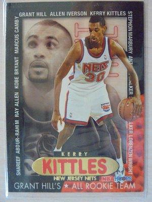 96-97 Hoops Grant's All-Rookie Team Kerry Kittles