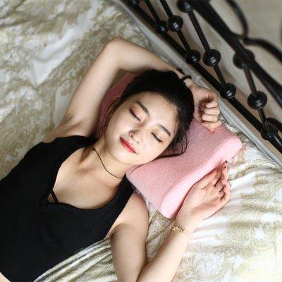 哆啦本鋪 午睡枕記憶棉定型枕護頸兒童枕頭小學生幼兒園低頸椎枕芯3616歲 D655