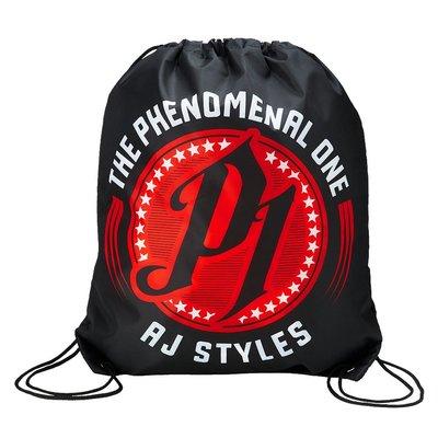 ☆阿Su倉庫☆WWE摔角 AJ Styles Phenomenal One Drawstring Bag AJ攜行束口袋