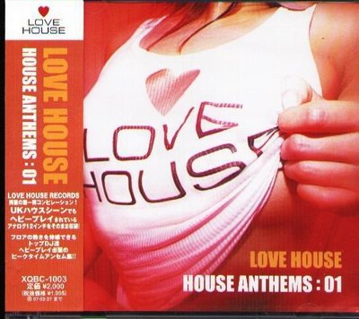 K - LOVE House Anthems 01 - 日版 Fat & Tall Original - NEW