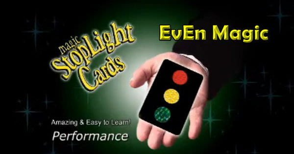 【意凡魔術小舖】紅綠燈卡片(神奇信號燈)(Stop Light Cards)近距離魔術