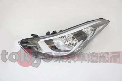 @Tokyo東京車燈部品@現代HYUNDAI  ELANTRA EX 15 16 原廠型 標準版大燈 單邊價