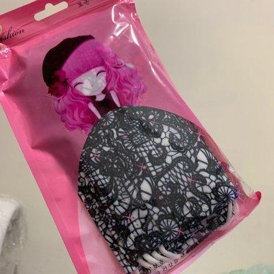 [韓娜]女神款🈵️版光澤感類似蕾絲布姐姐謝金燕款10片ㄧ組成平面口罩ㄧ次性(搜尋🔍韓娜口罩)更多絕美絕版款等您來收藏