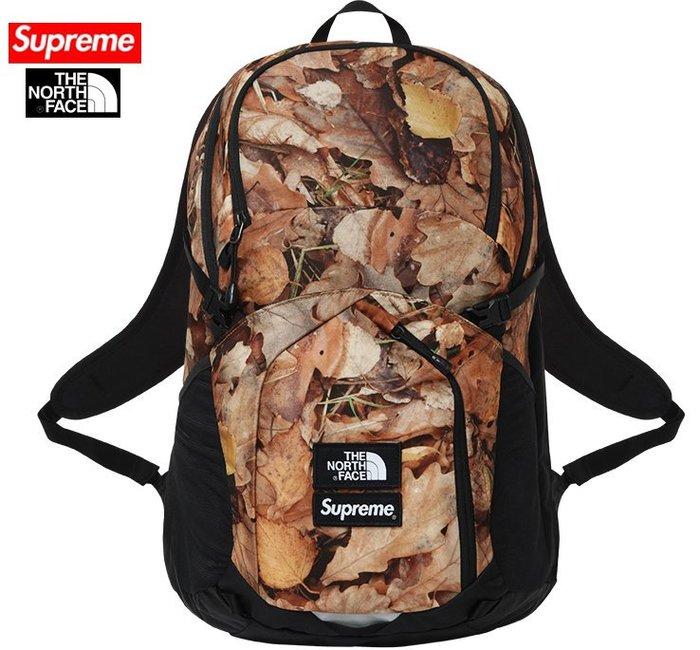 【超搶手】2016 聯名 Supreme The North Face Pocono Backpack 後背包 落葉